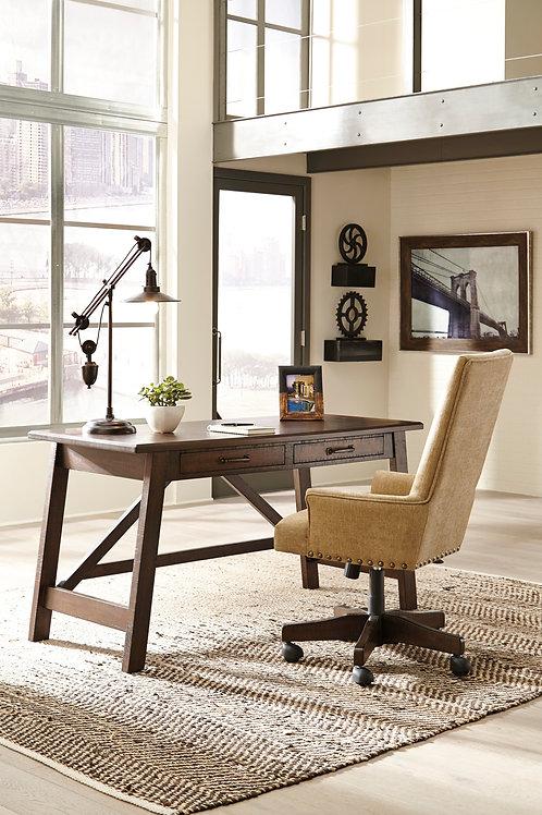 Baldridge Rustic Home Office Large Desk