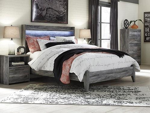 Baystorm Gray Queen Bed