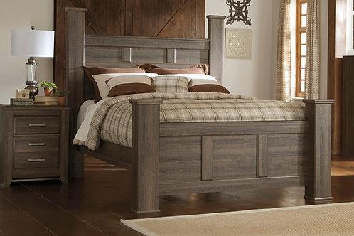 Juararo Brown Poster Queen Bed