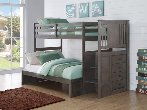 Princeton T/F Stairway Bunk Bed