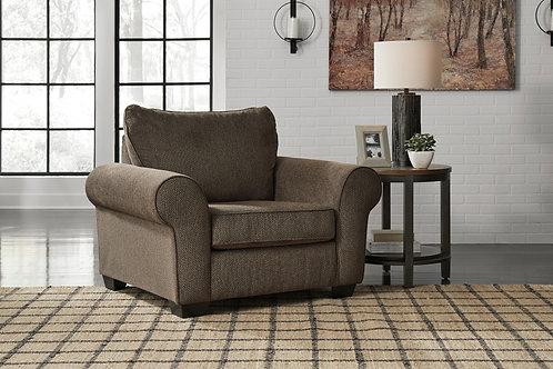 Nesso Walnut Chair & A Half