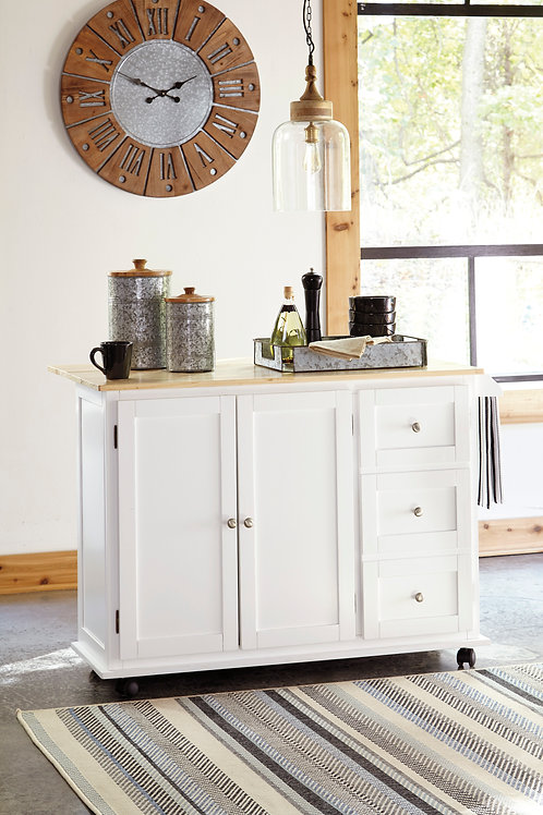 Withurst Kitchen Island Cart