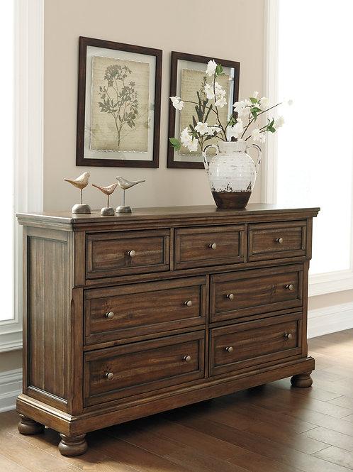 Flynnter Medium Brown Dresser