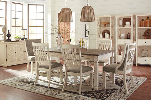 Bolanburg Table, 4 Side Chairs, & 2 Upholstered Chairs
