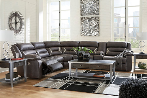 Kincord Midnight Power Reclining Sectional (LAF)