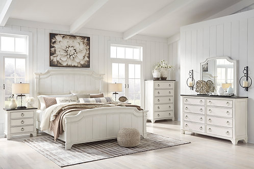 Nashbryn Two-Tone Queen Bedroom Set