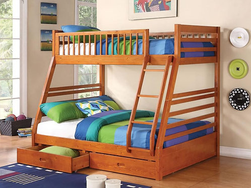 Cooper Twin/Full Bunk Bed w/Storage