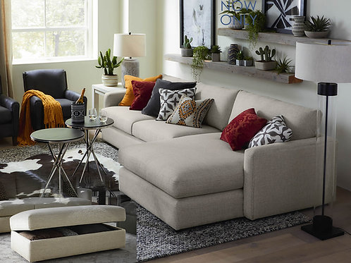 """Allure Small """"L"""" Shape Sectional"""