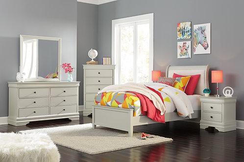 Jorstad Upholstered Sleigh Bedroom Set