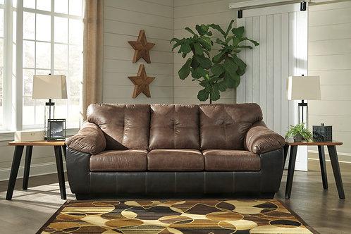 Gregale Coffee Sofa