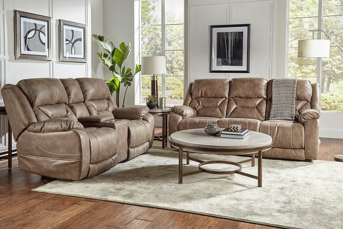 Desert Mushroom Power Reclining Sofa & Loveseat