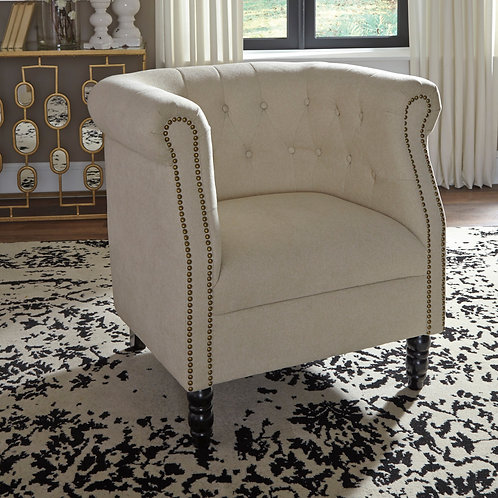 Jacquelyne Natural Accent Chair