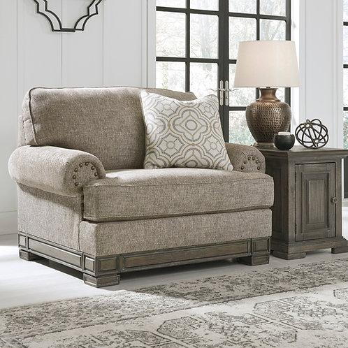 Einsgrove Sandstone Chair and a Half