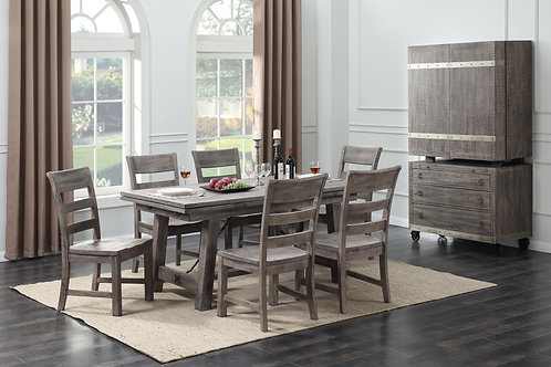 Dakota Regular Height Table & 4 Side Chairs
