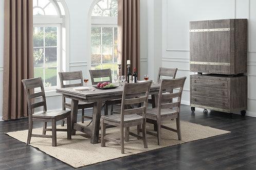 Dakota Regular Height Table & 4 Side Chairs