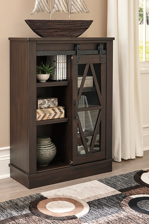 Bronfield Walnut Accent Cabinet