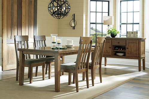 Flaybern Dining Table & 4 Chairs