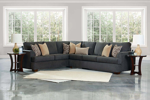 Atwood Dalton Charcoal Sectional