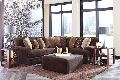 Mammoth Chocolate Small Sectional