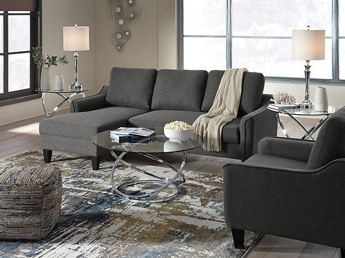 Jarreau Charcoal Queen Sleeper Sofa
