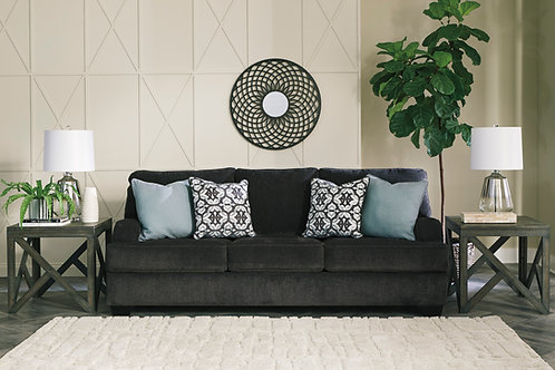 Charenton Charcoal Queen Sleeper Sofa
