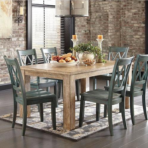 Mestler Driftwood Dining Set