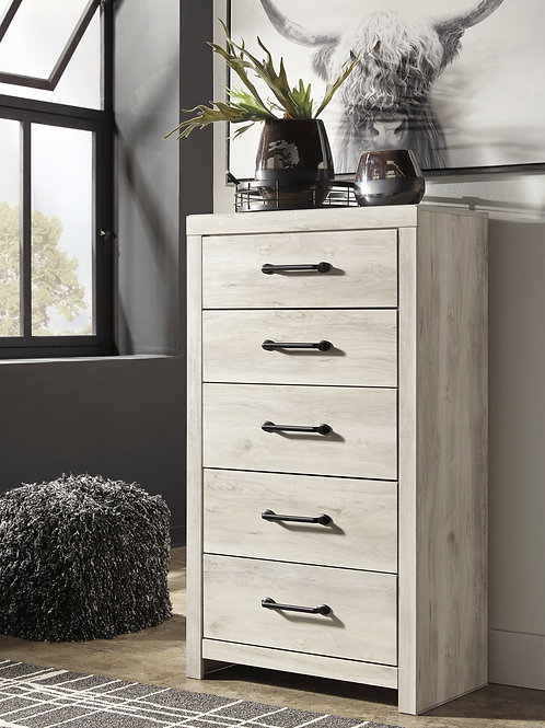 Cambeck Whitewash Rustic Chest