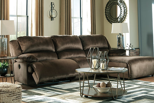 Clonmel Chocolate Small Sectional