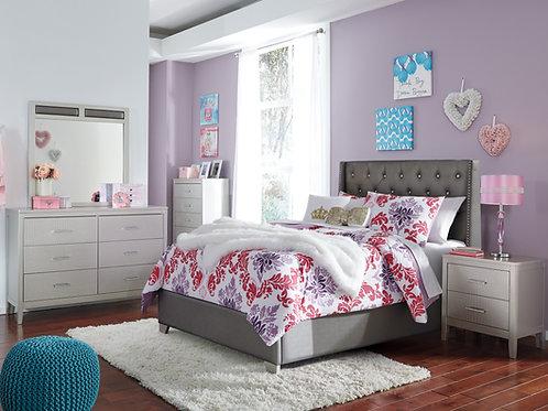 Coralayne Upholstered Full Bedroom