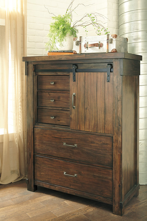 Lakeleigh Brown Door Chest