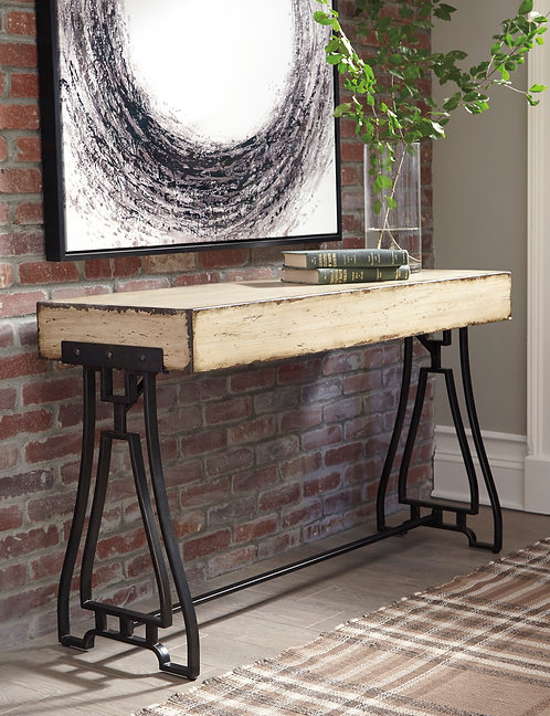 Vanport Cream Console Sofa Table