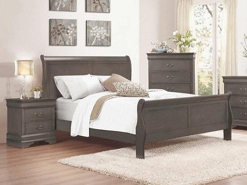 Mayville Gray Bed