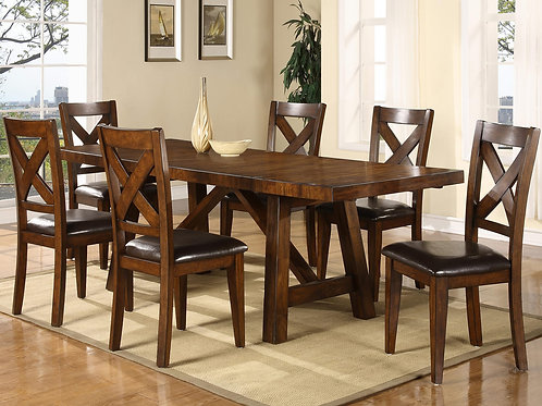 Lakeshore Regular Dining Table & 6 Chairs