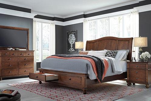 Oxford Queen Platform Storage Bedroom Set