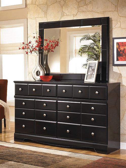 Shay Black Dresser