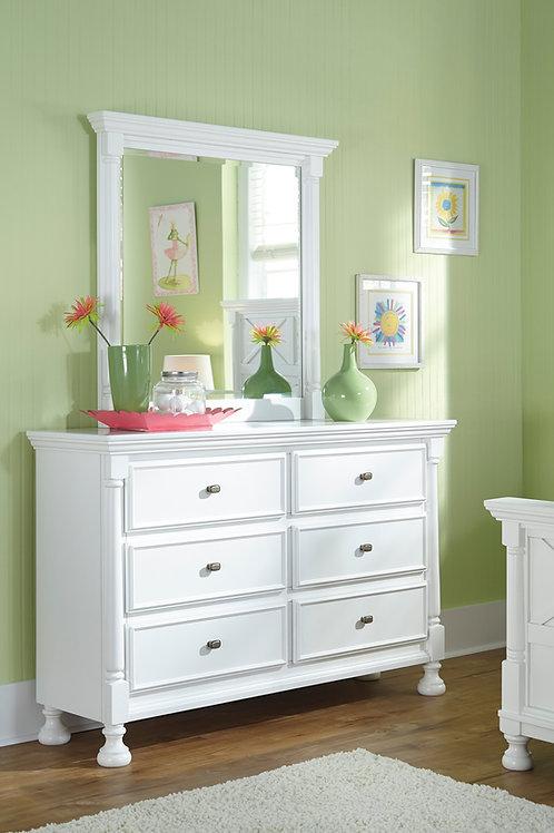 Kaslyn White Dresser