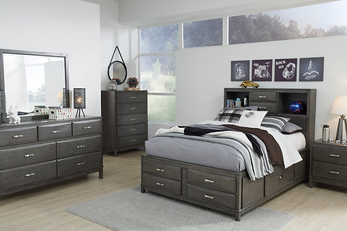 Caitbrook Gray Full Bedroom Set