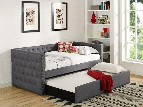 Trina Gray Upholstered Daybed