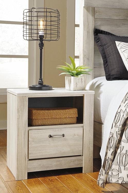 Bellaby Whitewash Nightstand