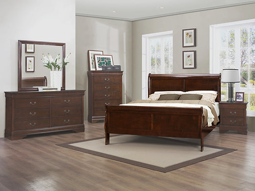 Mayville Collection Sleigh Bed