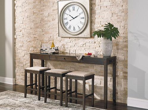 Rokane Table & 3 Stool Set