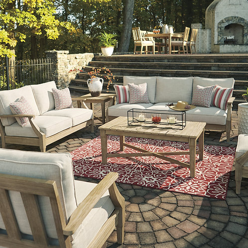 Clare View Outdoor Sofa & Loveseat