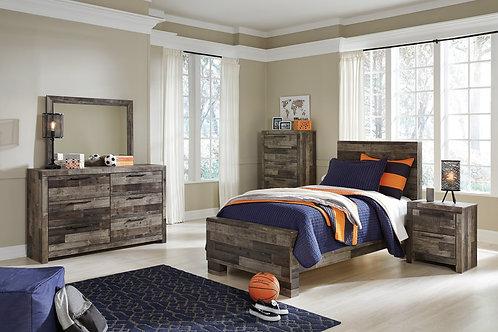 Derekson Multi-Gray Youth Bedroom Set