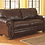 Thumbnail: Banner Coffee Leather Loveseat