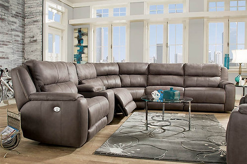 Dazzle Savvy Slate 6-PC Sectional