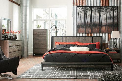 Cazentine Grayish Brown Bedroom Set