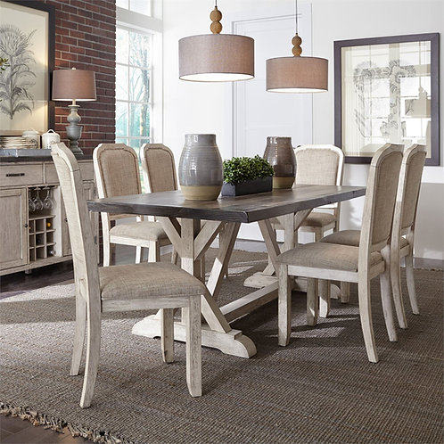 Willowrun Dining Table & 6 Chairs