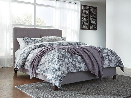 Dolante Graphite Uphosltered Queen Bed