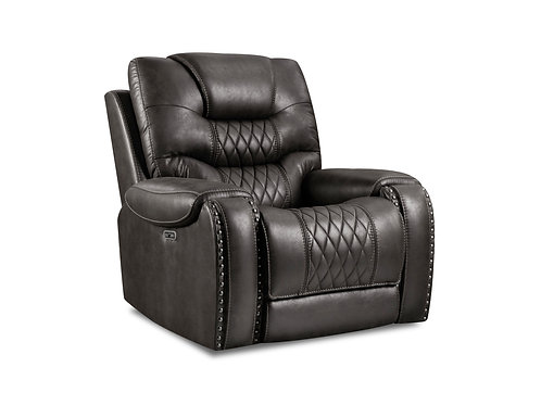 Bailey's Desert Black Recliner