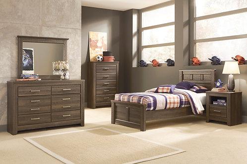 Juararo Twin Panel Bedroom Set